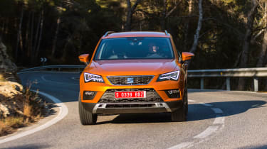 Although it's an SUV, the Ateca will spend most of its time on road, rather than off it
