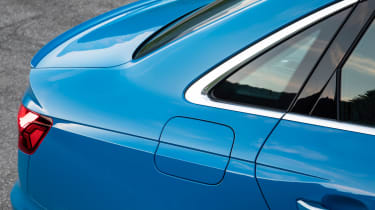 Audi S4 saloon rear haunches