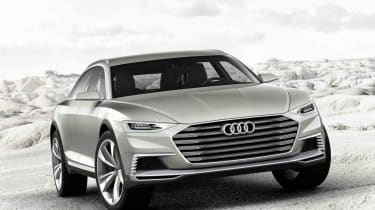 The next generation Audi A6 Allroad is likely to closely resemble this Prologue Allroad concept from 2015