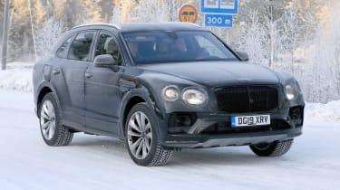 Bentley Bentayga development model