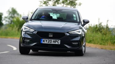 SEAT Leon hatchback - front road driving