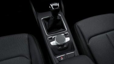 Audi Q2 SUV centre console