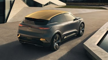 Renault Megane eVision concept rear view