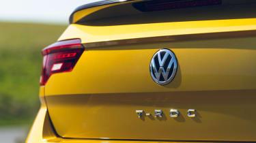 Volkswagen T-Roc Cabriolet badge