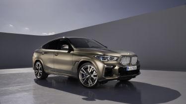 2019 BMW X6 - three quarter static studio