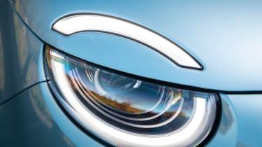 Fiat 500 hatchback headlights