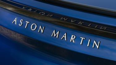 Aston Martin DBS Superleggera Volante rear badge