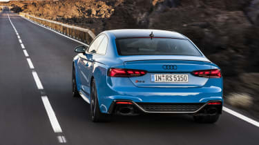 2020 Audi RS5 Coupe - rear 3/4 dynamic