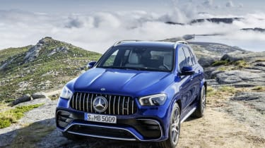 Mercedes-AMG GLE 63 S - front static