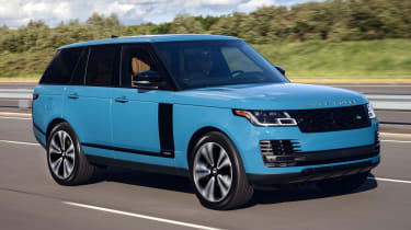 Range Rover Fifty driving