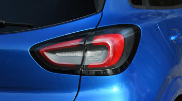 Ford Puma SUV rear lights