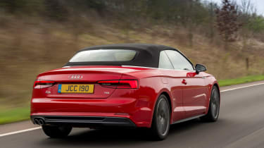 The Audi A5 Cabriolet may not excel as a driver's car but build quality is extremely impressive.