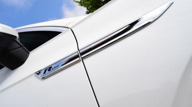 Volkswagen Touareg SUV badge