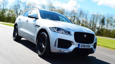 The new Jaguar F-Pace is the company's first-ever SUV & is expected to be a sales hit