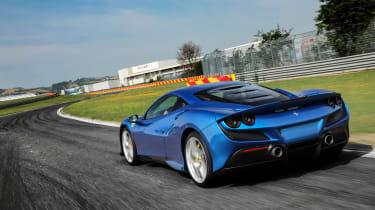 Ferrari F8 Tributo rear tracking