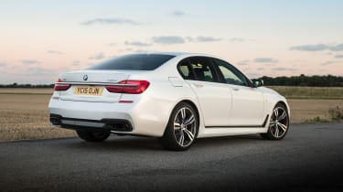 Such things are relative though, and the 7 Series is still incredibly plush