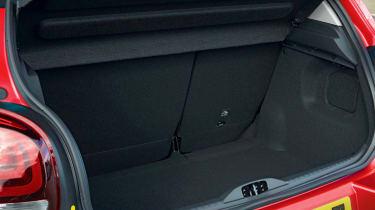 Citroen C3 hatchback boot