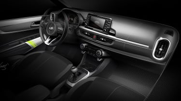 While inside, the new Kia Picanto has keyless entry & go, all-round electric windows and a large infotainment screen