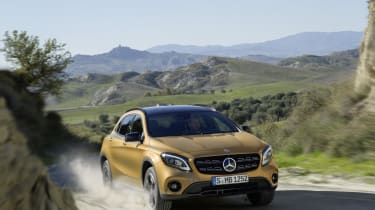 Mercedes has given its GLA SUV a mid-life nip and tuck