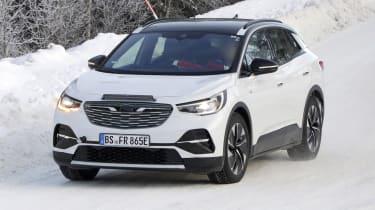 2021 Volkswagen ID.4 SUV - winter testing front