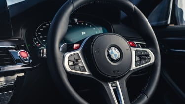 2021 BMW M5 Competition saloon - steering wheel
