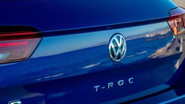Volkswagen T-Roc R SUV boot