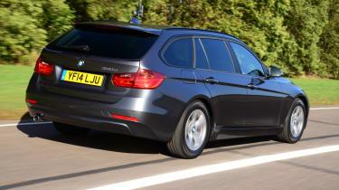 BMW 3 Series Touring xDrive - rear 3/4 view