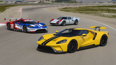 The Ford GT is as close as you can get to a Le Mans race car for the road