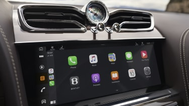 2020 Bentley Bentayga SUV - infotainment display