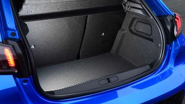 Peugeot 208 hatchback boot