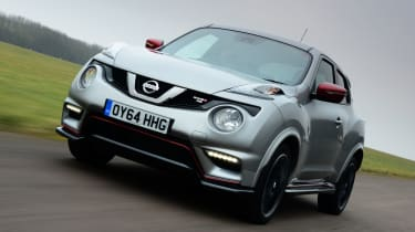Nissan Juke Nismo RS front
