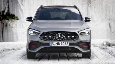 Mercedes GLA front end
