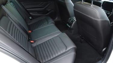 Volkswagen Passat GTE Estate rear seats