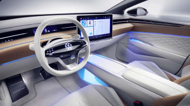 Volkswagen ID. Space Vizzion concept interior