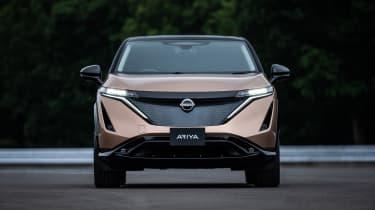 Nissan Ariya front end