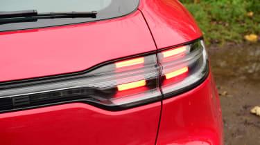 Porsche Macan SUV rear lights
