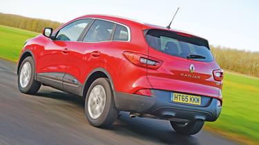 Renault Kadjar - rear 3/4 view