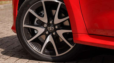 Toyota Yaris hatchback alloy wheels