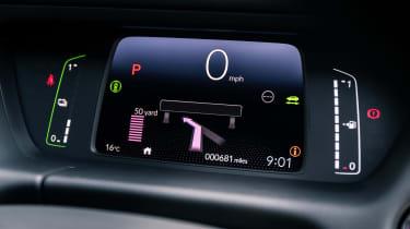 Honda Jazz hatchback digital instruments