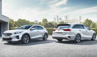 Kia Ceed Sportswagon PHEV and XCeed PHEV