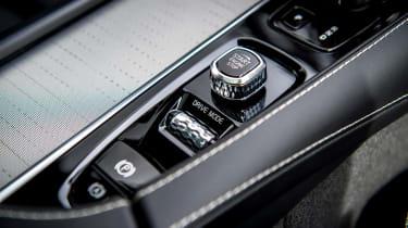 Volvo XC90 Recharge interior detail