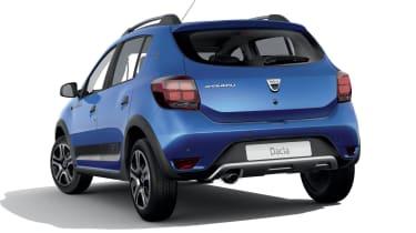 Dacia Sandero Stepway SE Twenty rear 3/4 view
