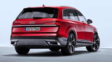 Audi Q7 SUV facelift rear 3/4