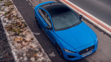 Jaguar XE Reims Edition top view