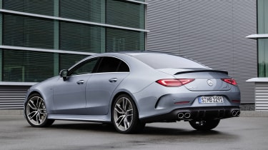 2021 Mercedes CLS AMG 53 - rear 3/4 static