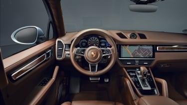 Porsche Cayenne S Coupe - interior