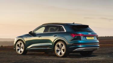 Audi e-tron SUV side static
