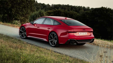 Audi RS7 static - rear left view