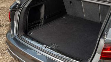 Audi A4 Avant estate luggage space
