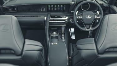 Lexus LC Convertible dashboard
